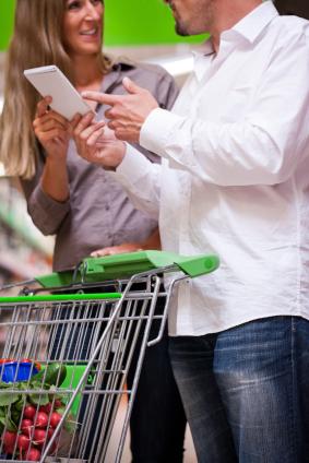 Healthy Couple Shopping